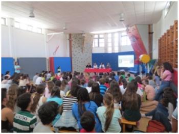 Olímpicos na Escola com Telma Monteiro e Nuno Barreto